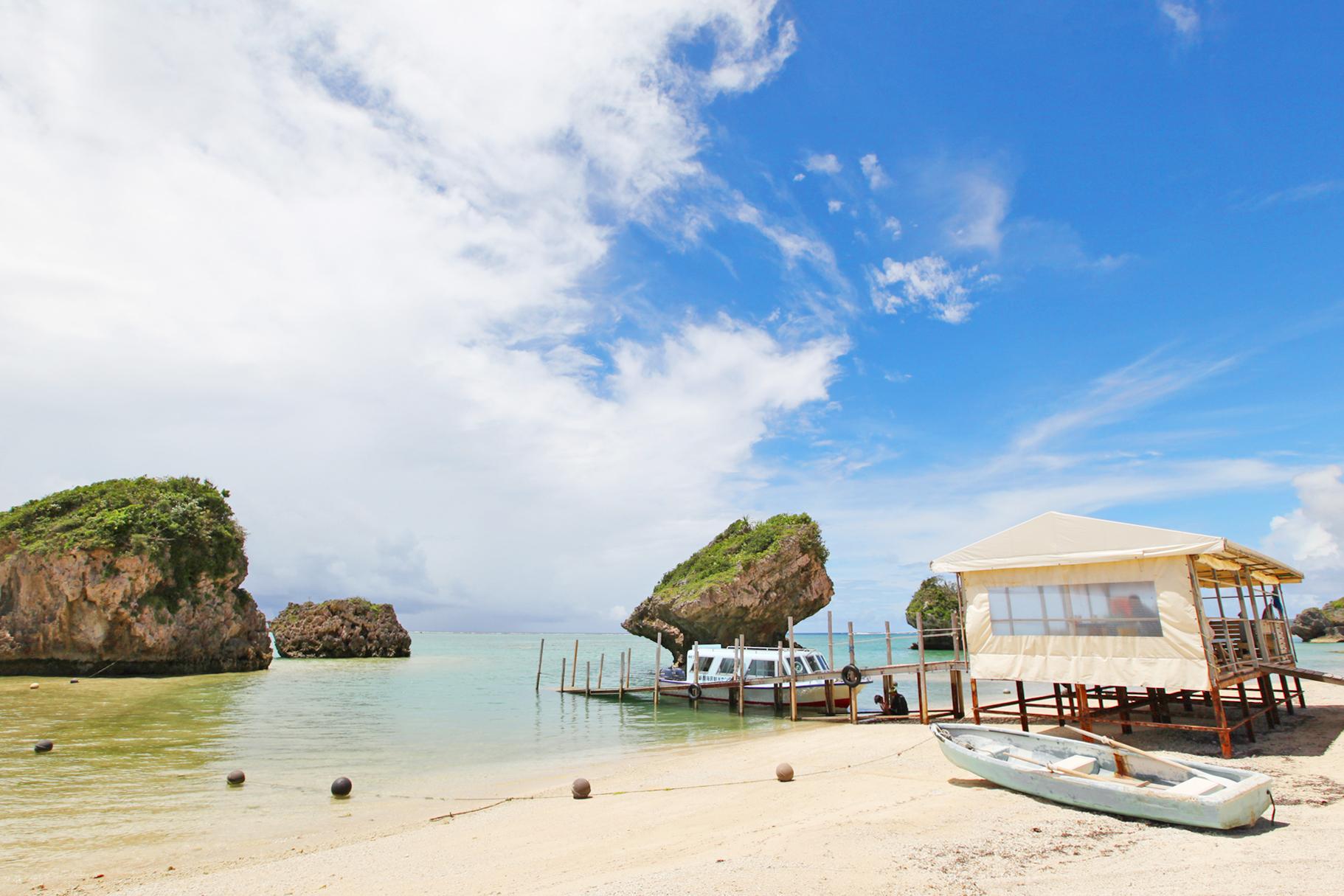 沖縄の穴場ビーチ「新原ビーチ」