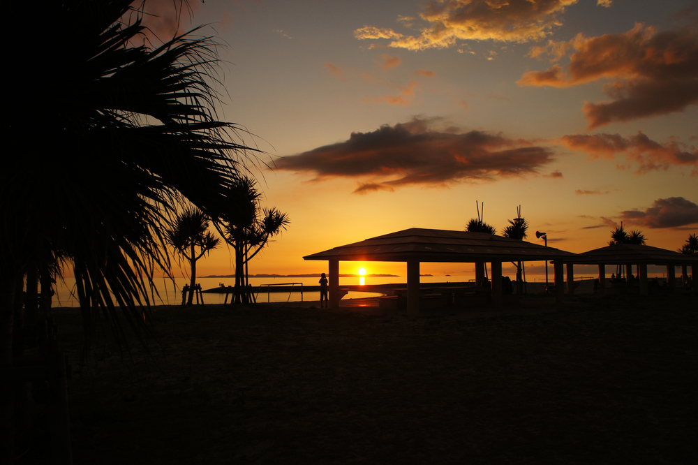 豊崎美らSUNビーチ 豊見城市 沖縄 景色 絶景 スポット