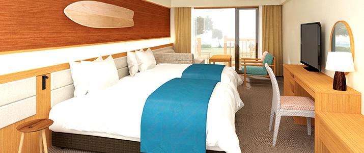 石垣シーサイドホテルの魅力②客室