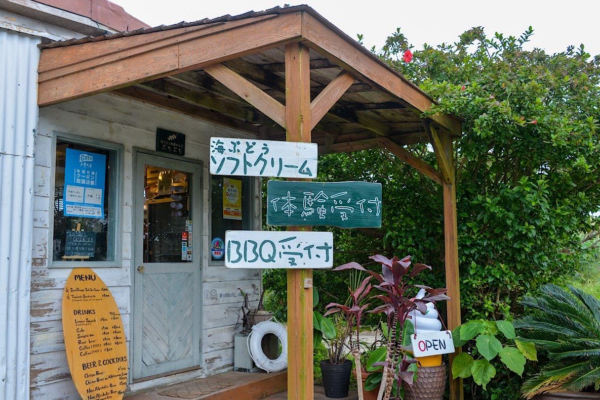 海ブドウのお店ぷちぷち