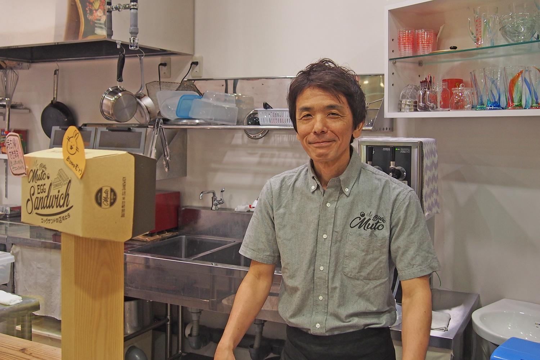店長の山本三夫さん