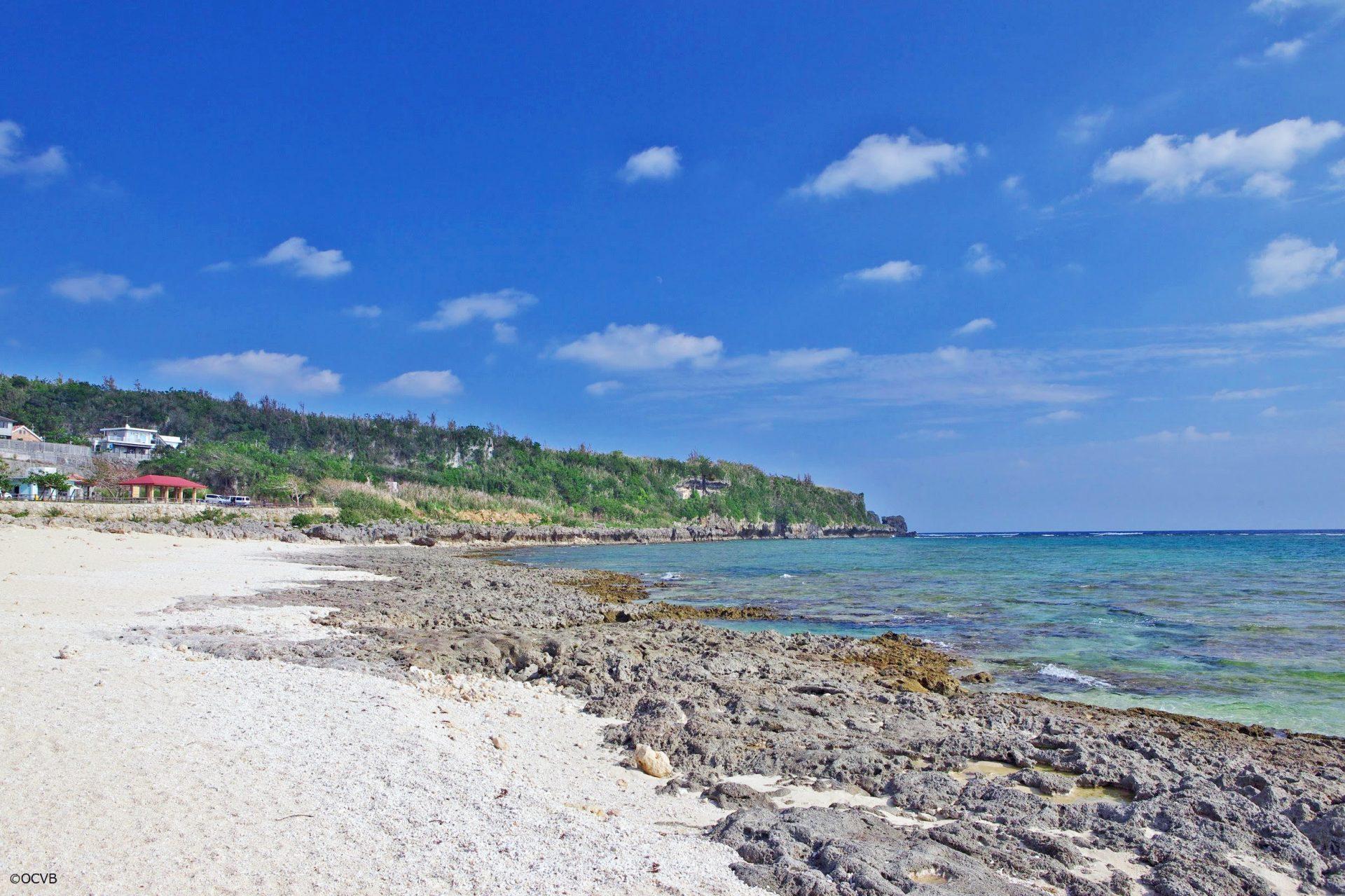 沖縄南部「大度海岸(ジョン万ビーチ)」