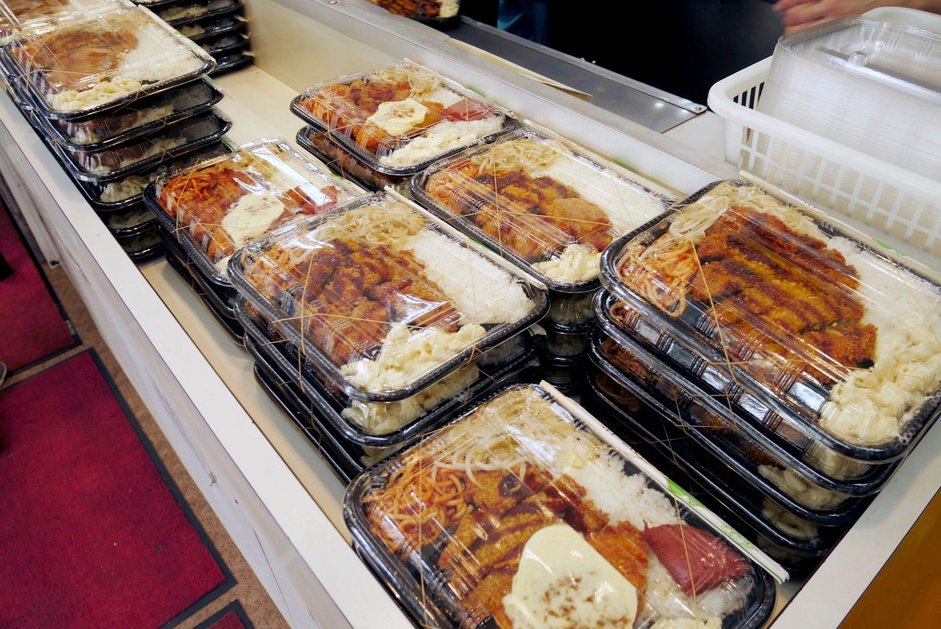 ガッツリ系の弁当が多いのがむんじゅる弁当の特徴