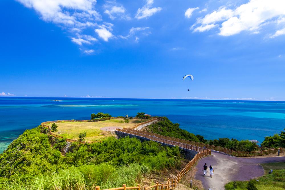 知念岬公園 南城市 沖縄 景色 絶景 スポット