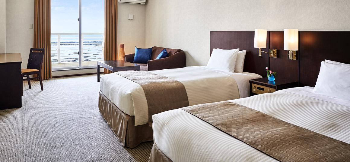 サイプレスリゾート久米島の魅力②客室