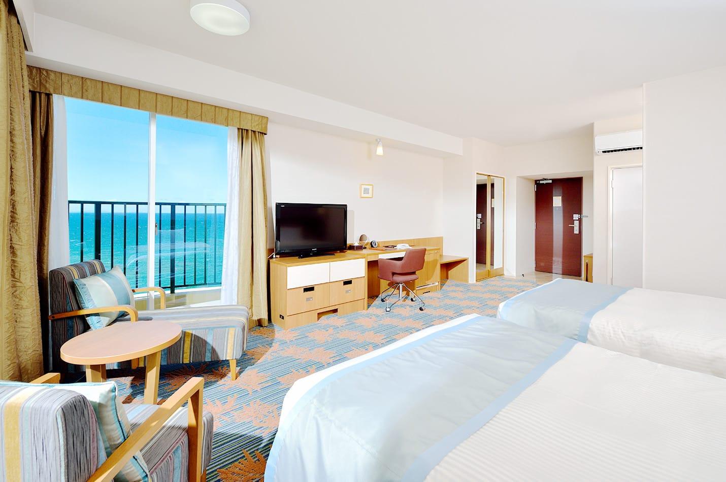 ベッセルホテルカンパーナ沖縄の魅力②客室