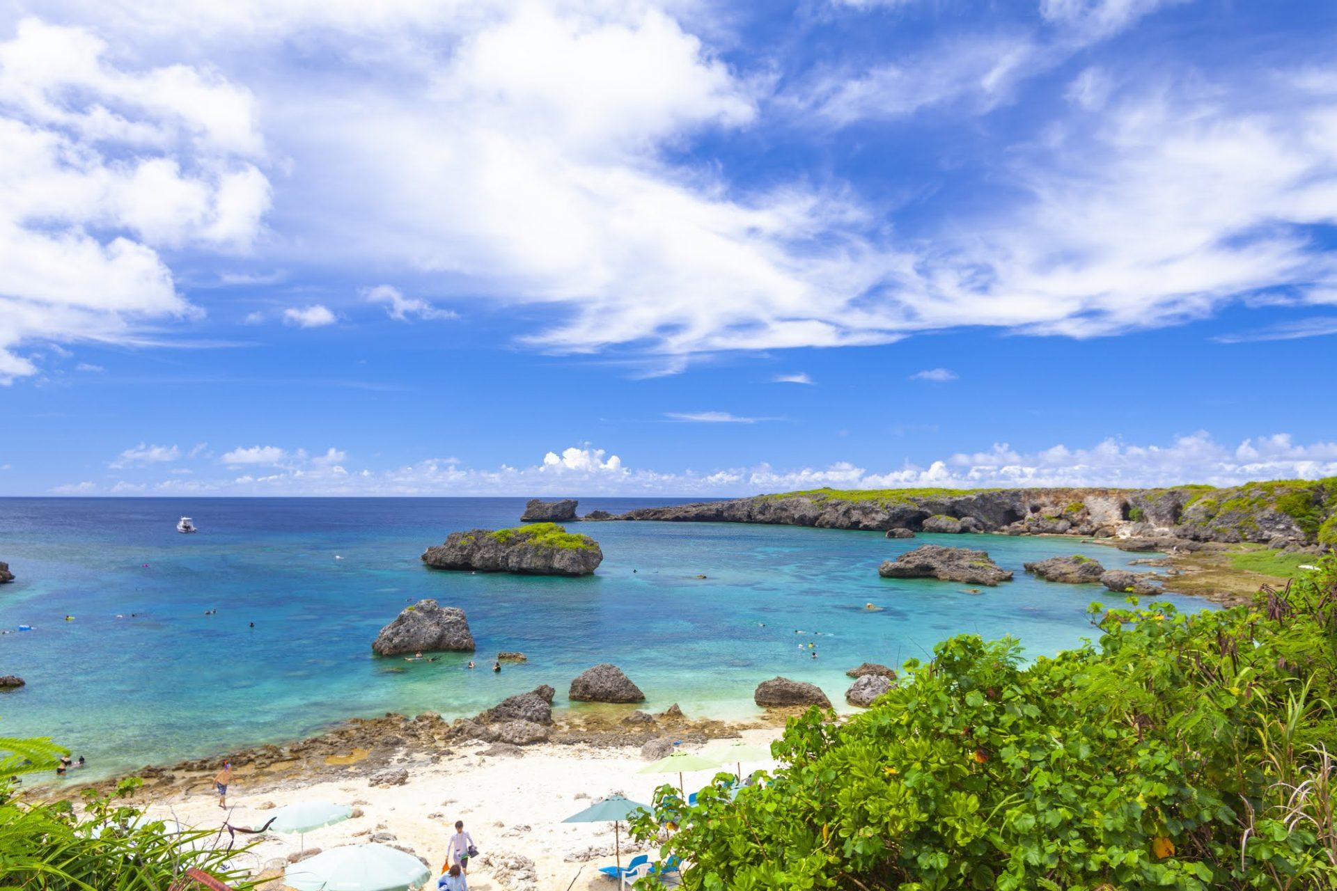 下地島のビーチ「中の島ビーチ」