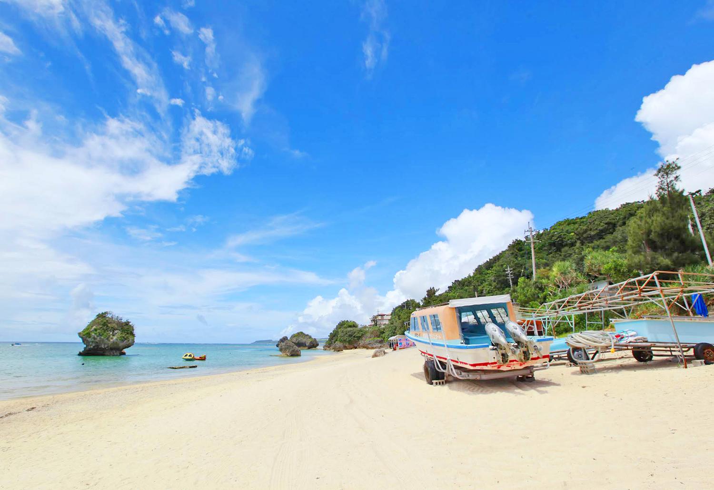 沖縄南部「新原ビーチ(みーばるビーチ)」