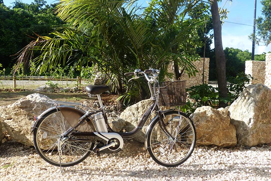 ホテルピースアイランド竹富島の魅力③観光に便利なレンタサイクル