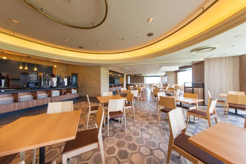 オキナワグランメールリゾートの魅力③レストラン