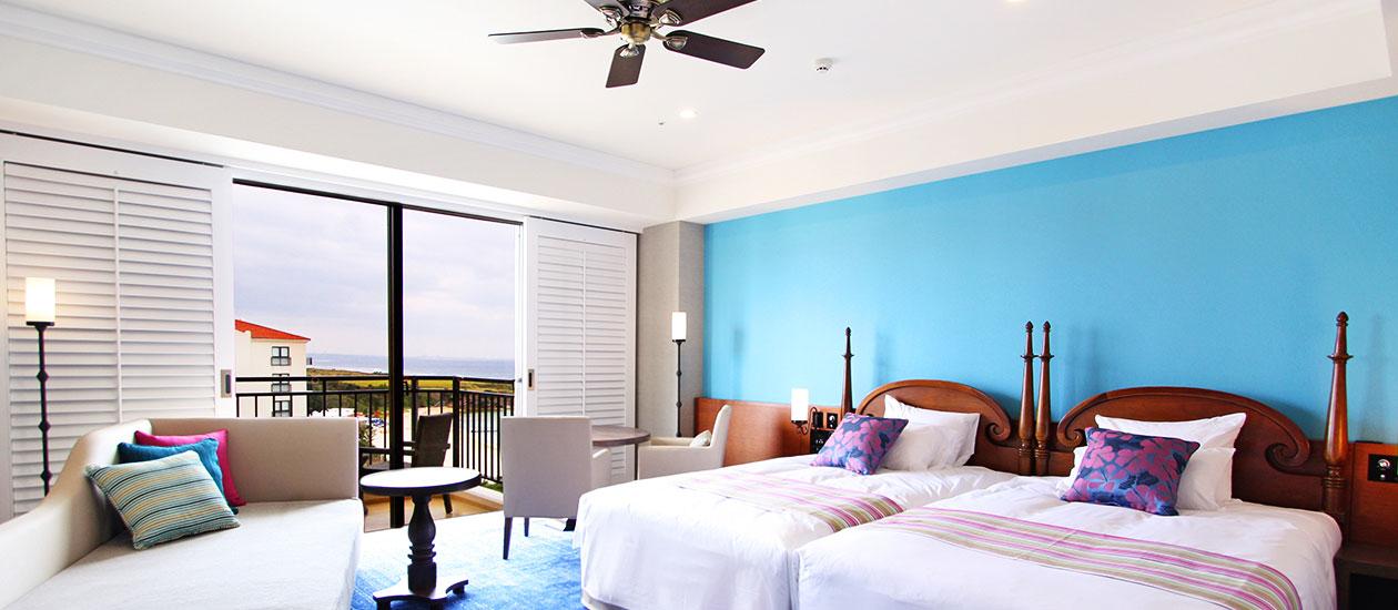 ホテル日航アリビラの魅力②客室