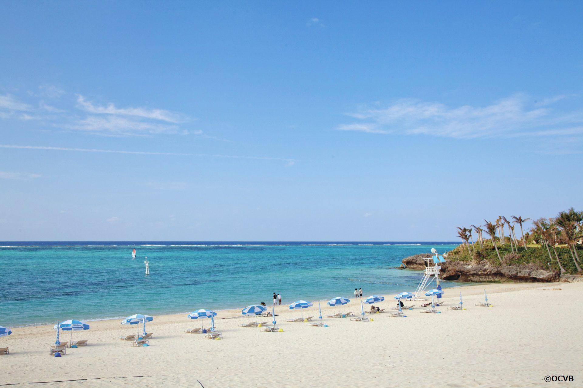 おすすめ恩納村ビーチ「ムーンビーチ」