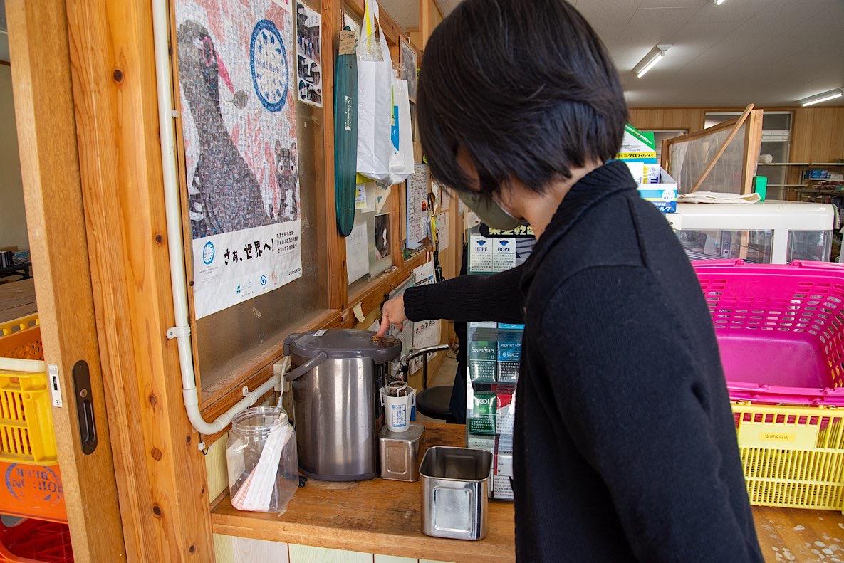 ドリップバッグを購入して自分でお湯を注ぐスタイル