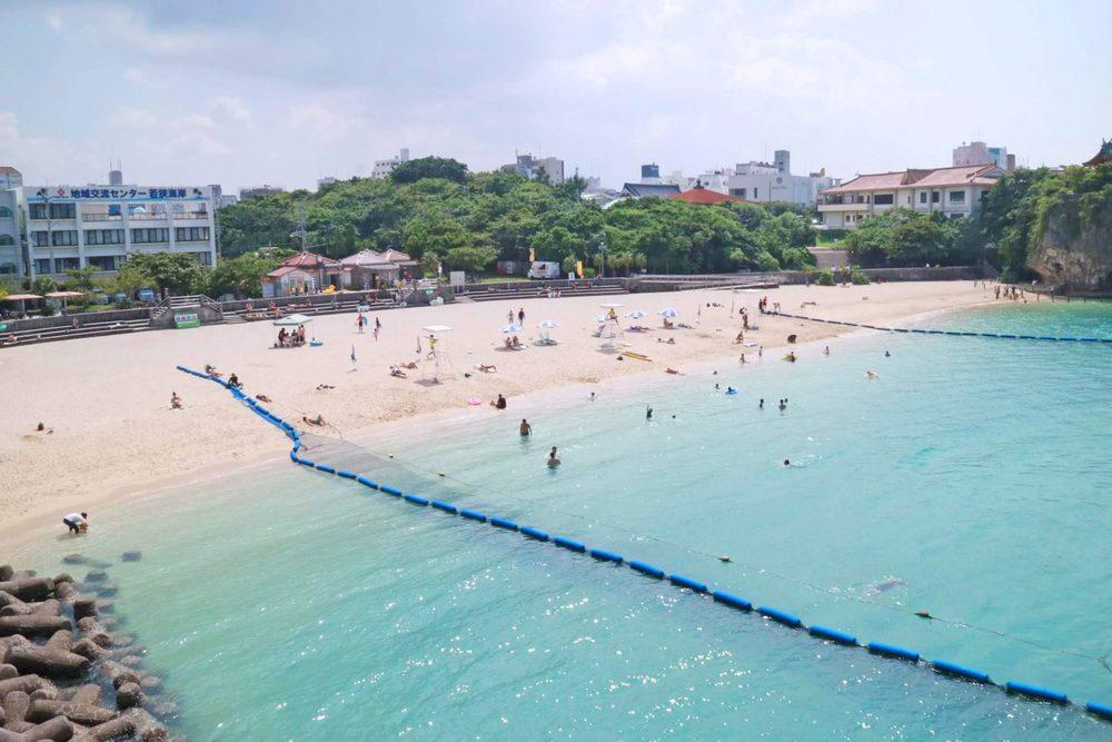 那覇市 波の上 ビーチ