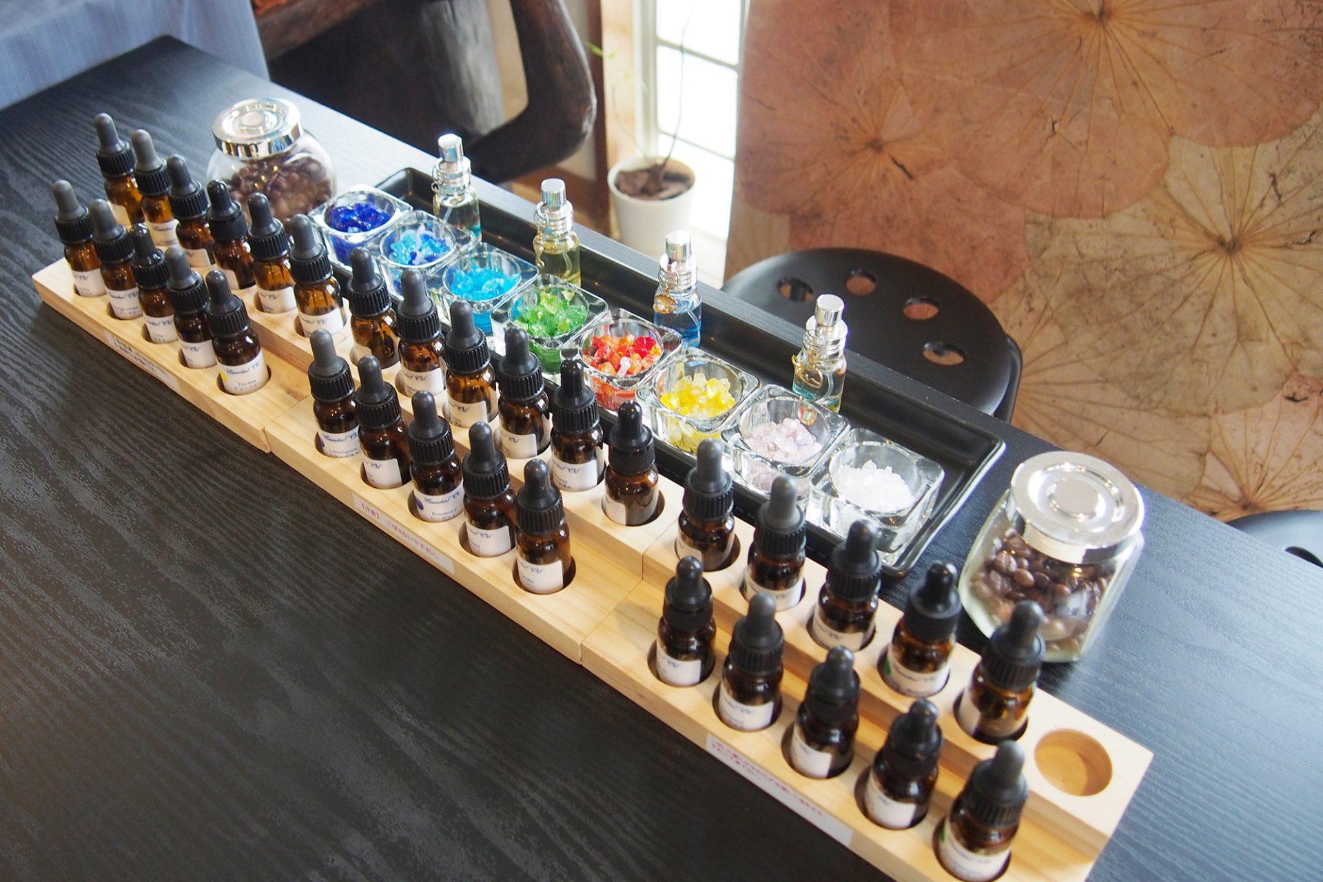 琉球香水作り体験