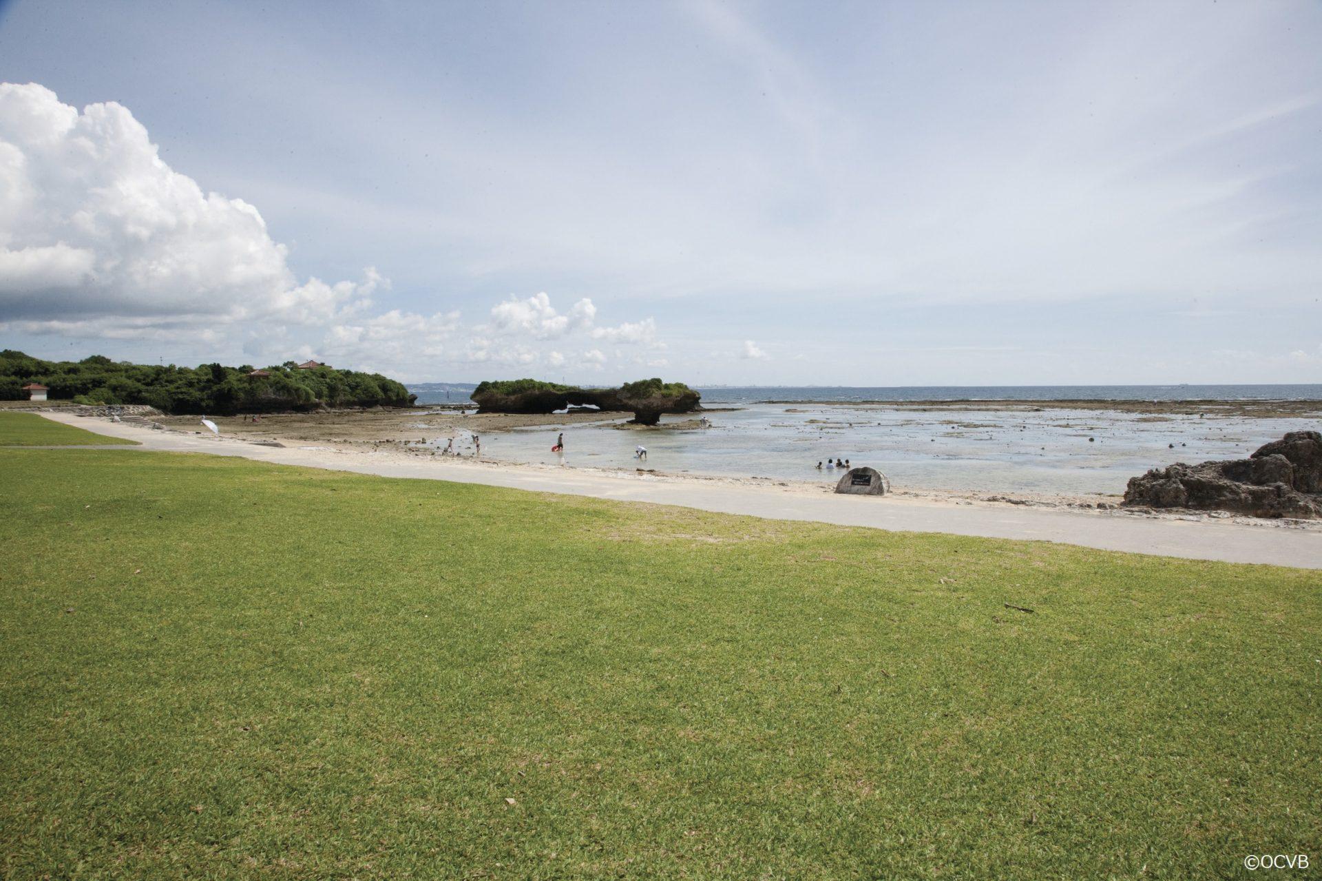 沖縄の穴場ビーチ「渡具知ビーチ」