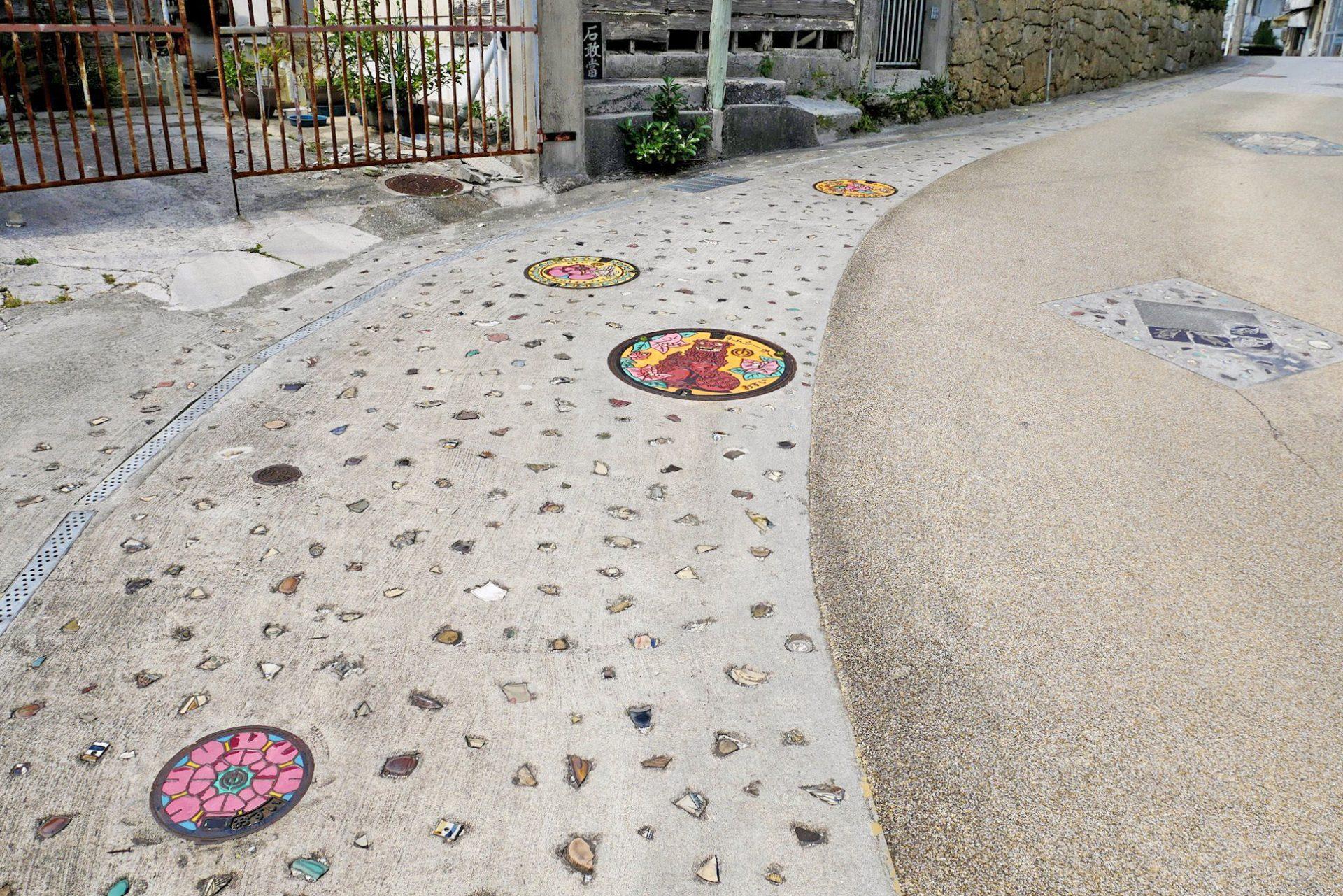 沖繩 那霸市 在地設計 人孔蓋