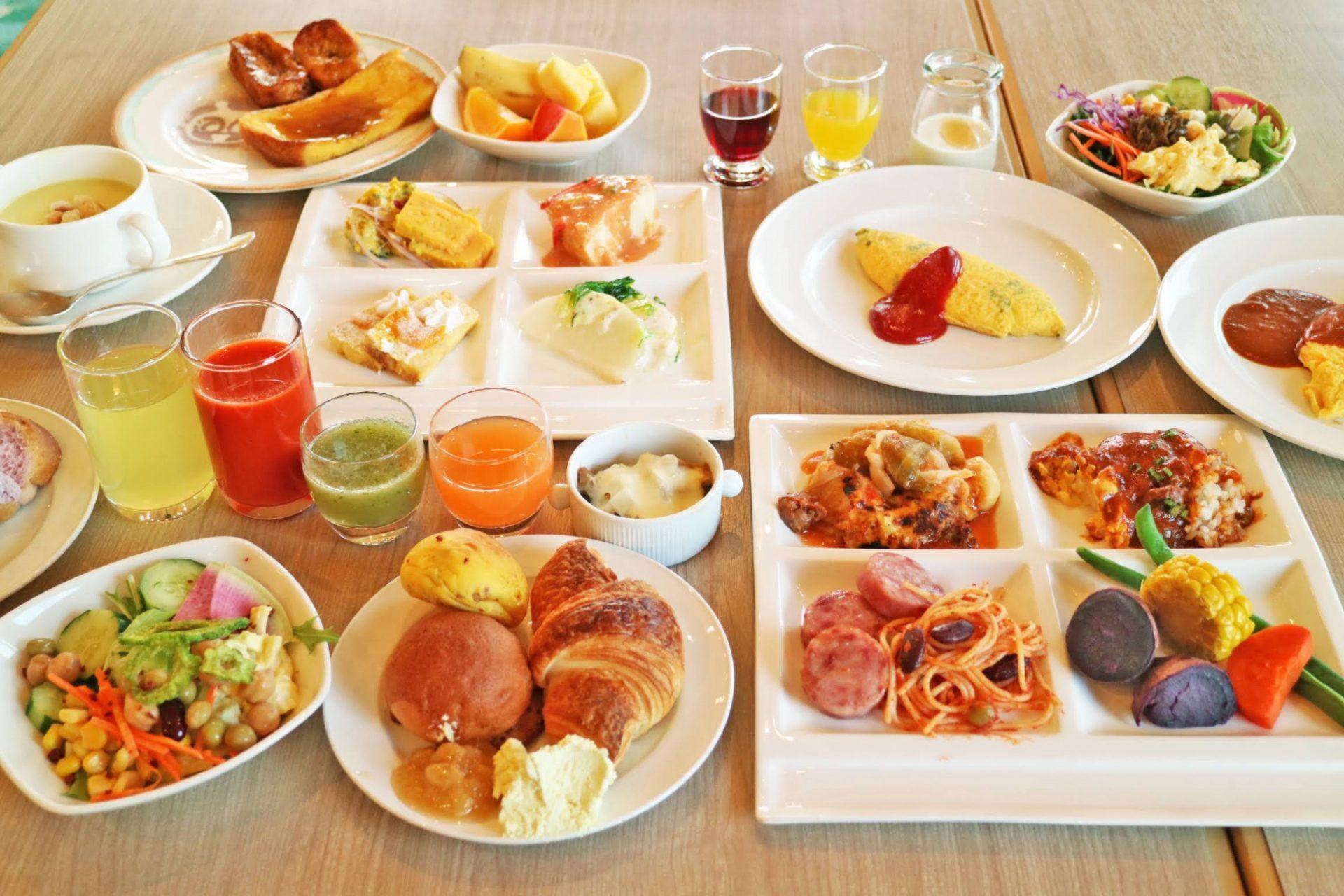 ホテル日航アリビラの魅力③レストラン