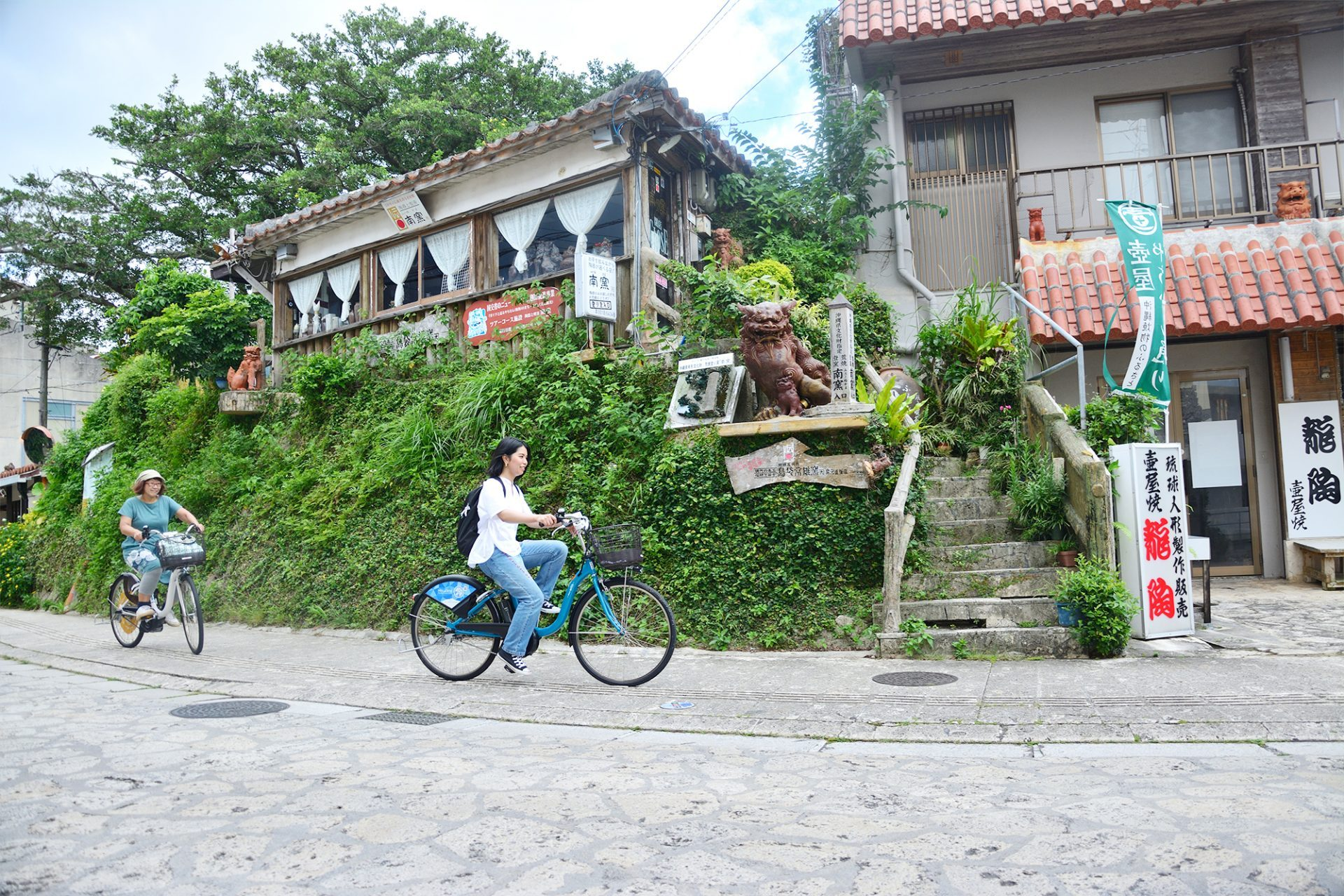 サイクリングで快適な観光