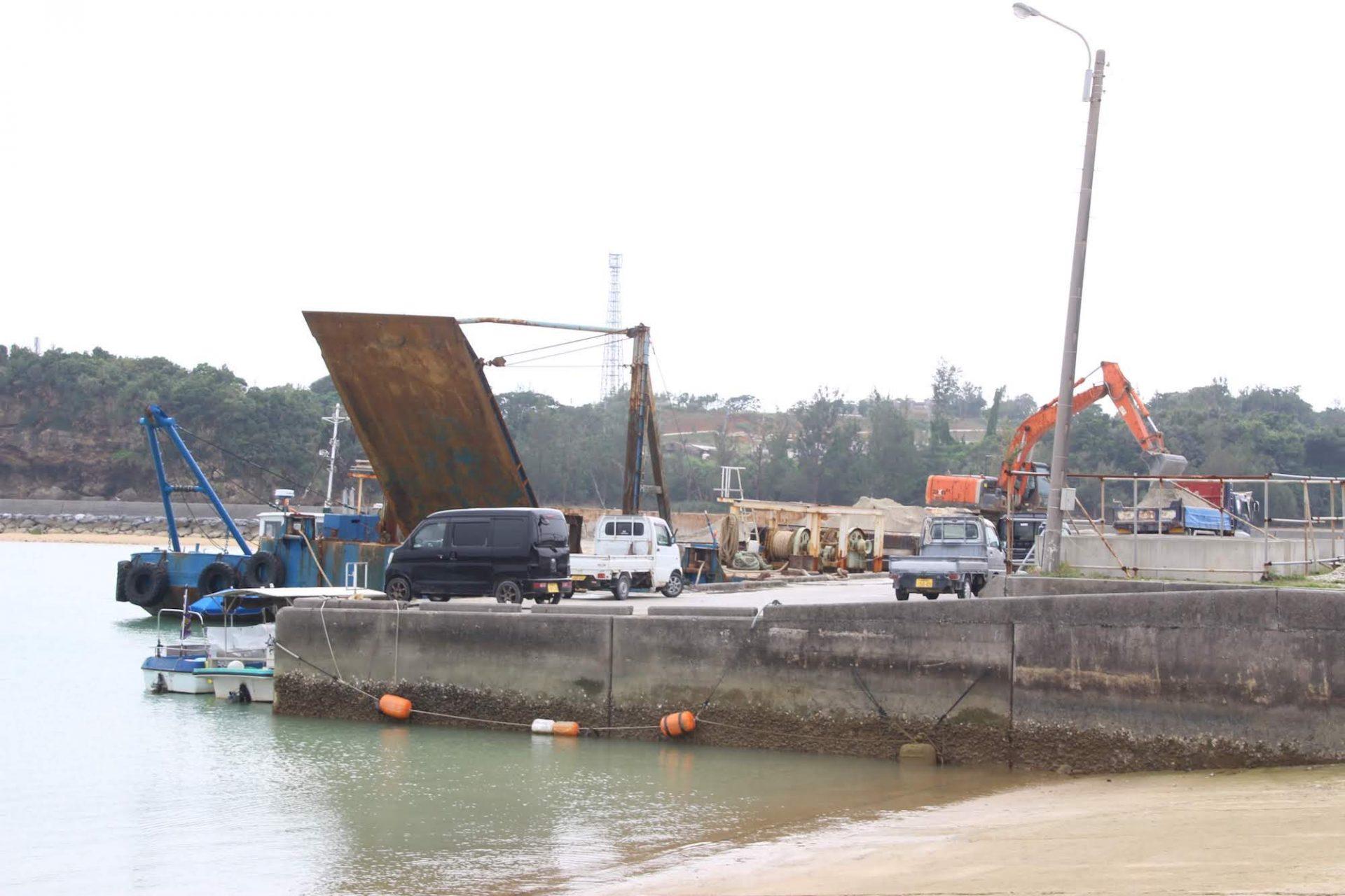 辺野古漁港