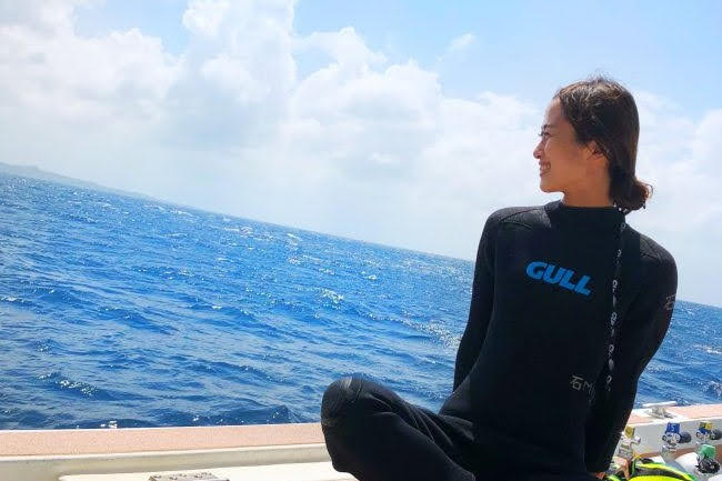 マリンスポーツで海を堪能する