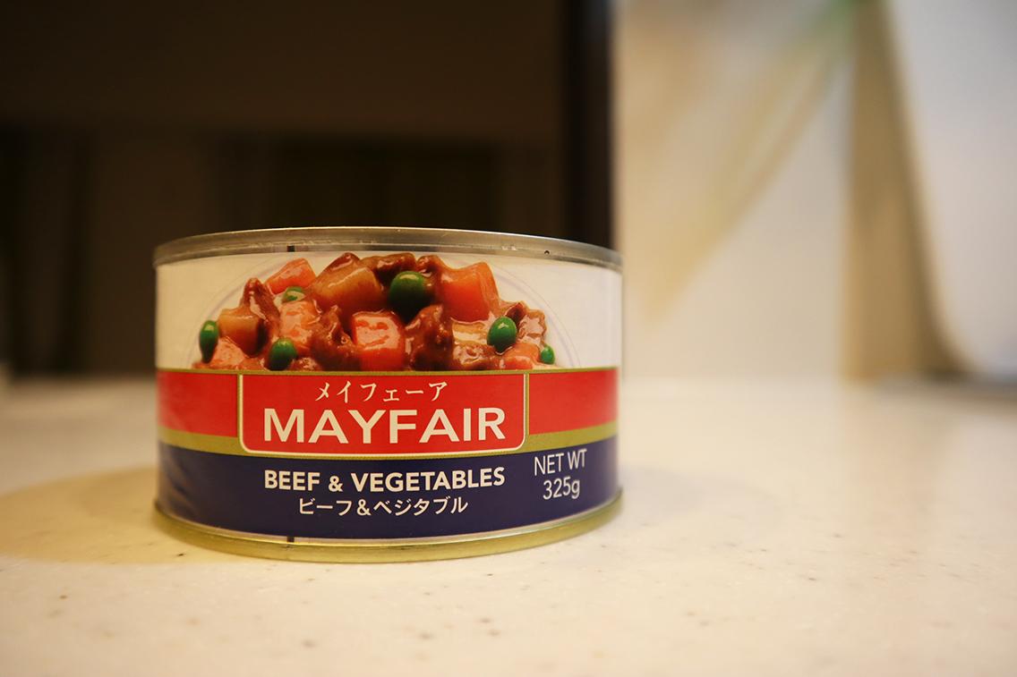 沖縄ではストゥと呼ばれる缶詰「メイフェーア」