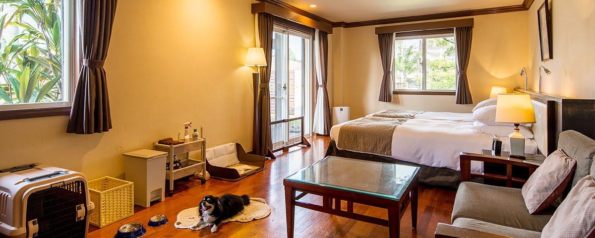 オクマ プライベートビーチ&リゾート 沖縄 ペット 可 ホテル