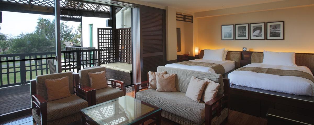 沖縄 コテージ ホテル 宿泊 旅行 家族 オクマ プライベートビーチ&リゾート