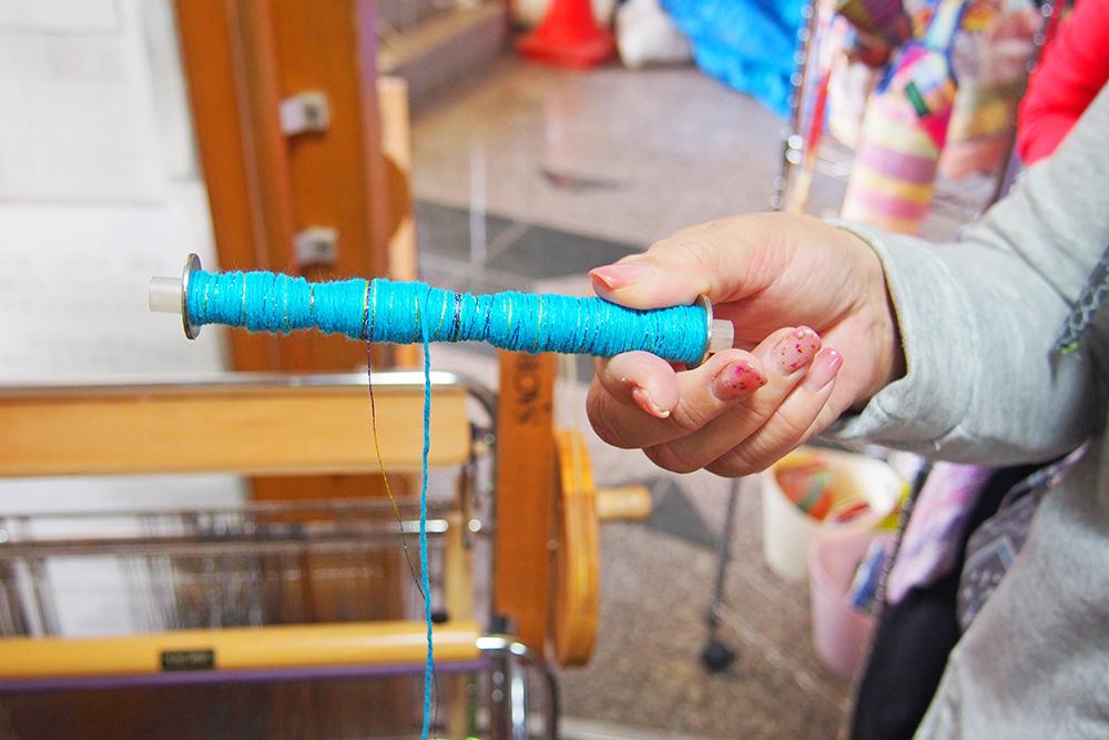 ②糸をセット