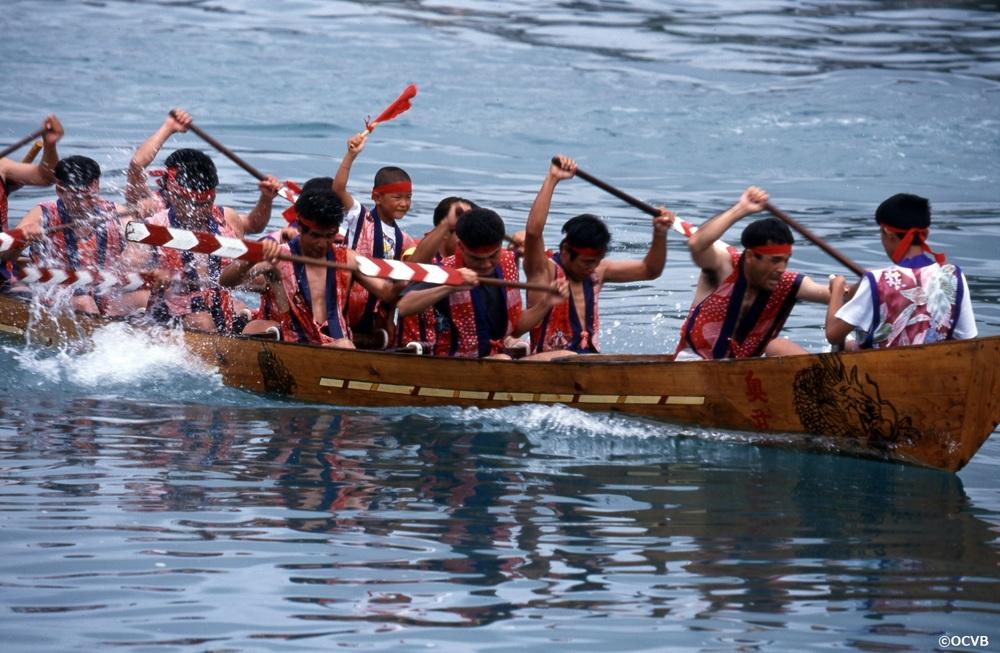 奥武島海神祭(奥武島ハーリー) 南城市