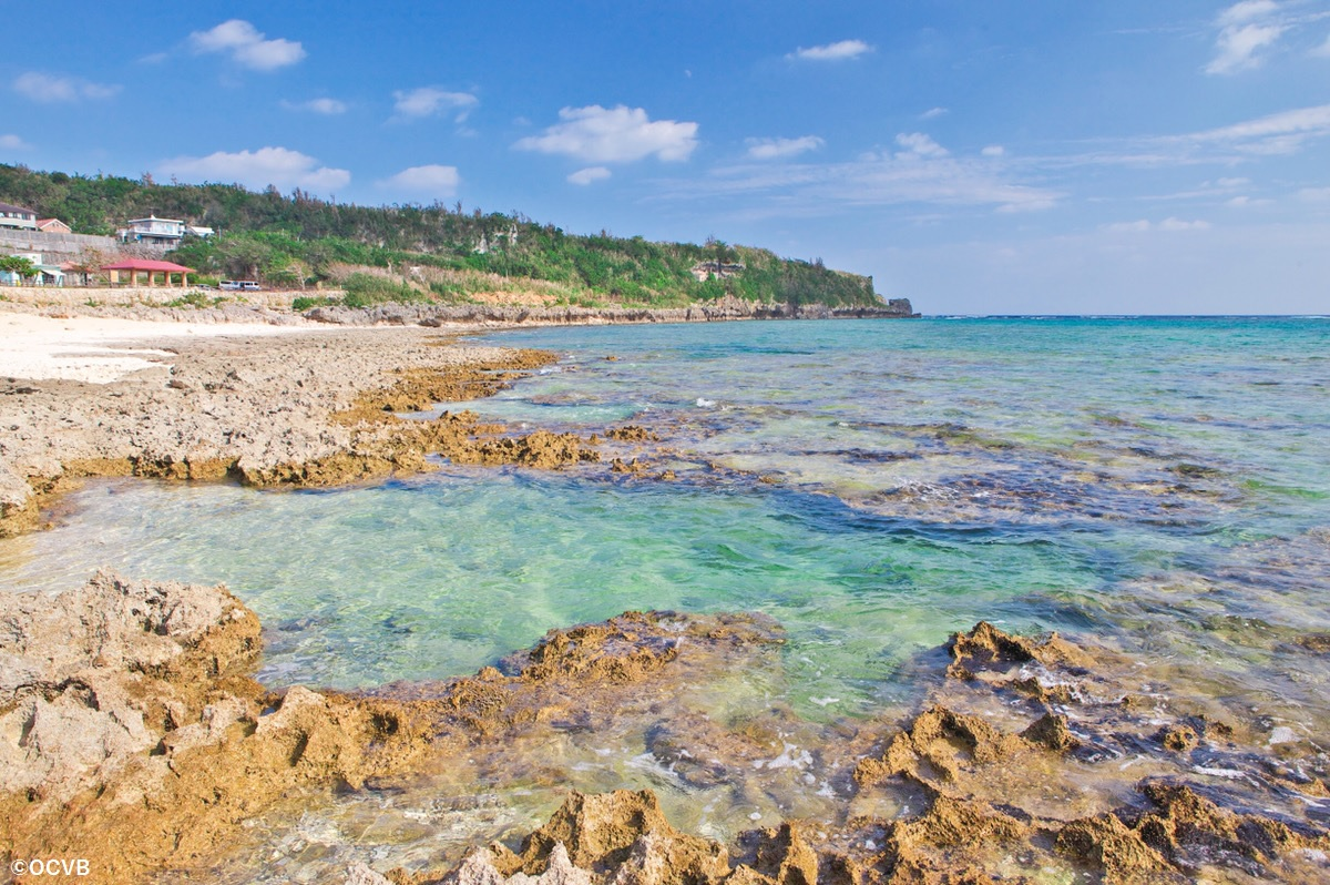 沖縄 穴場 ビーチ 大度浜海岸 ジョン万ビーチ 糸満市