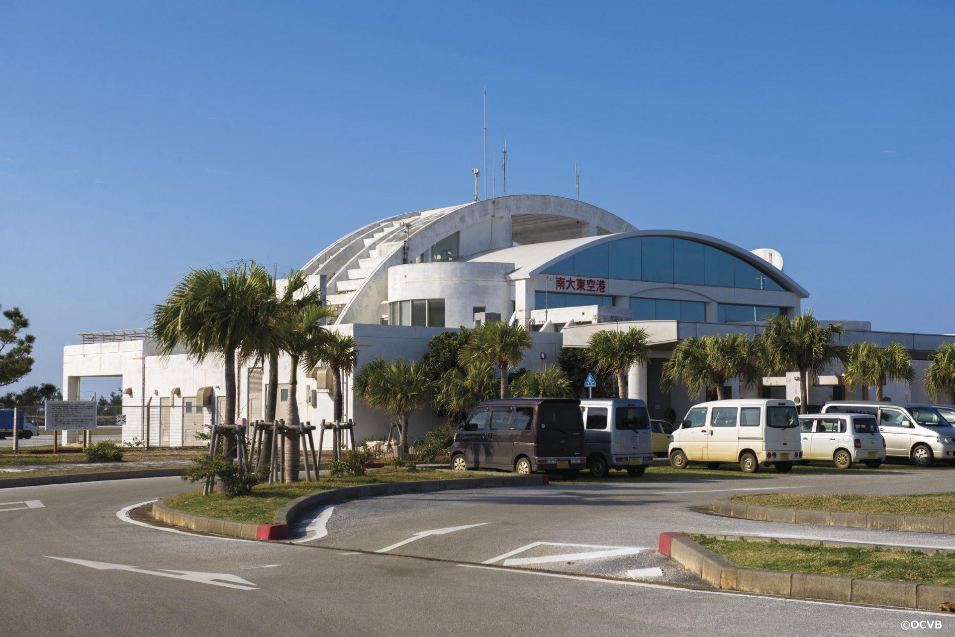 空港 飛行機 南大東島 観光 旅行 沖縄 離島