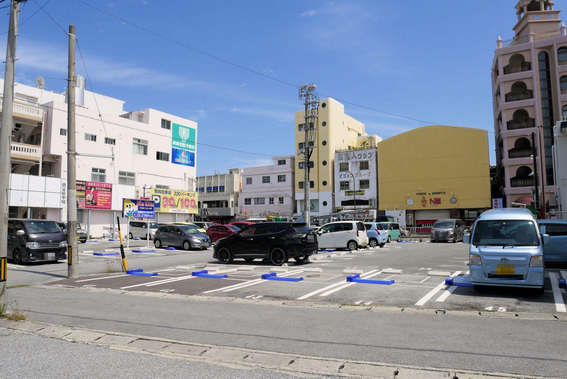 沖縄市 中の町 コインパーキング 駐車場