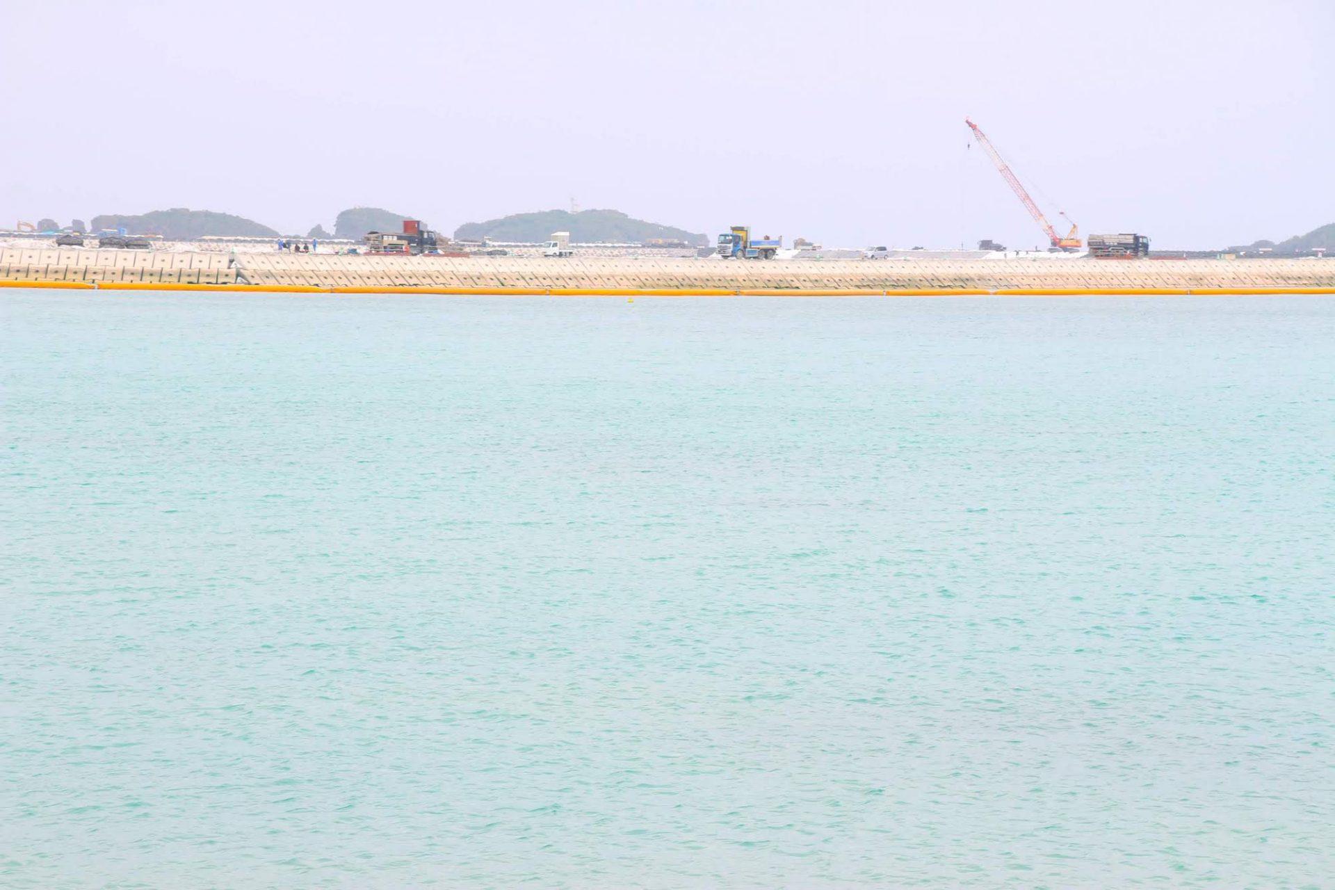 辺野古の綺麗な海