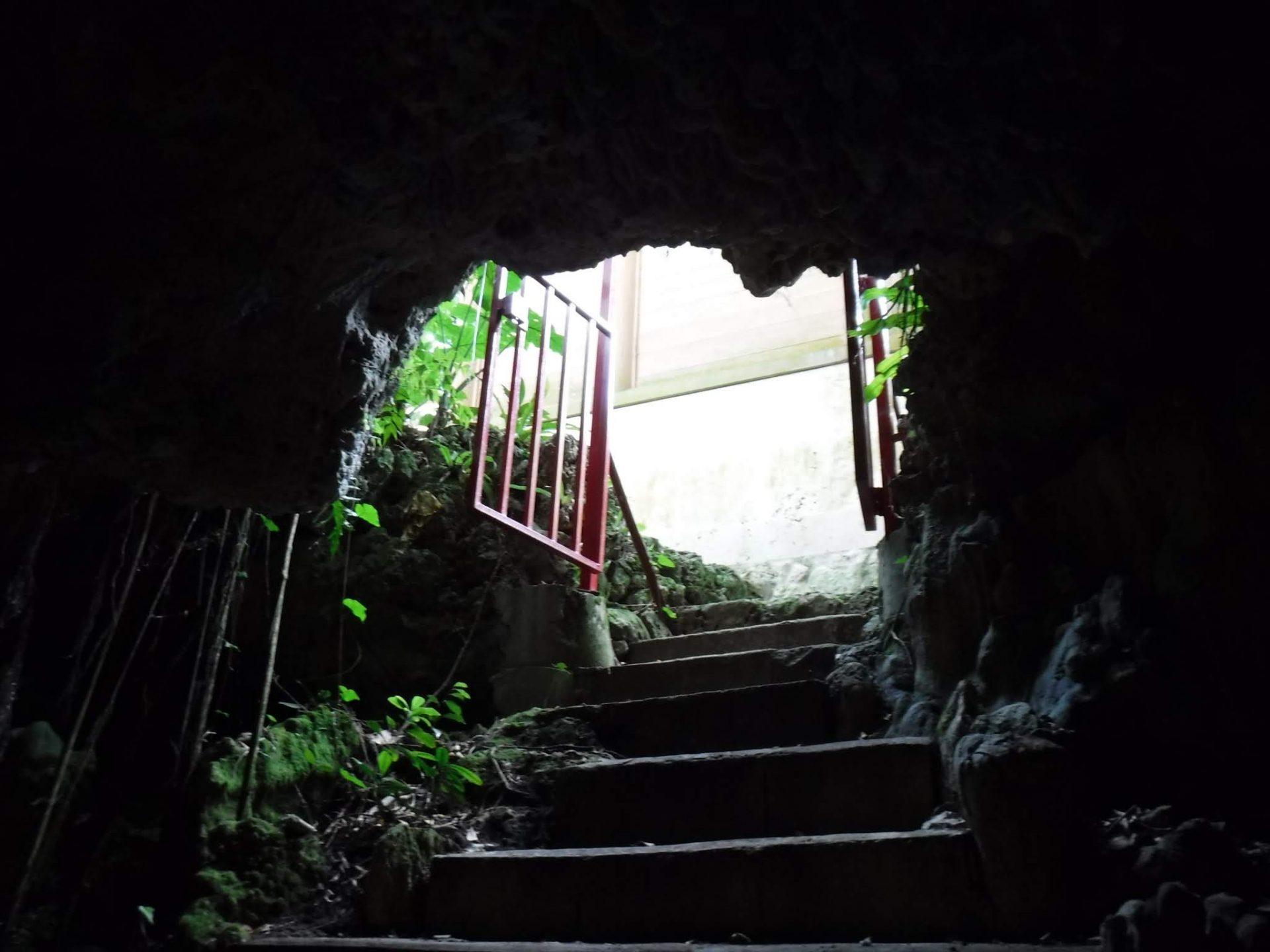 創建当時お宮のあった洞窟