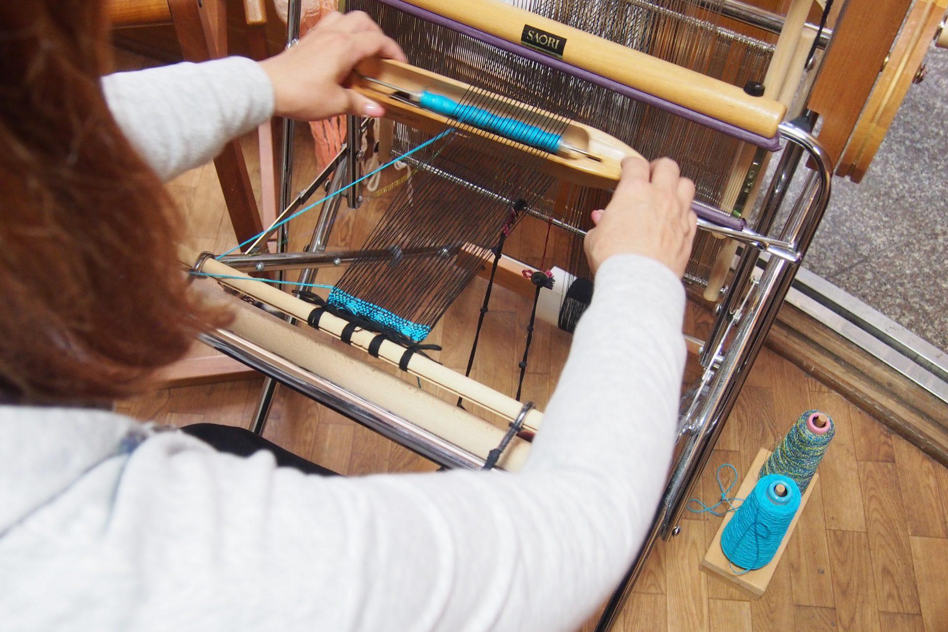 ④縦糸と横糸