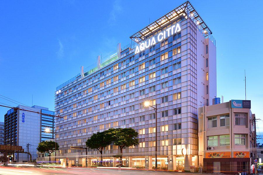 那覇のリゾートホテル「ホテルアクアチッタナハ」