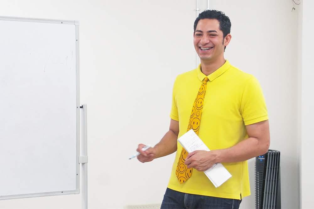 島ハーフ芸人 ニッキー 英会話教室