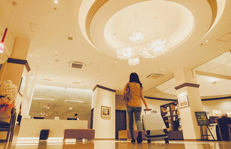 女性一人旅におすすめ!沖縄ホテル「グランドキャビンホテル那覇小禄」