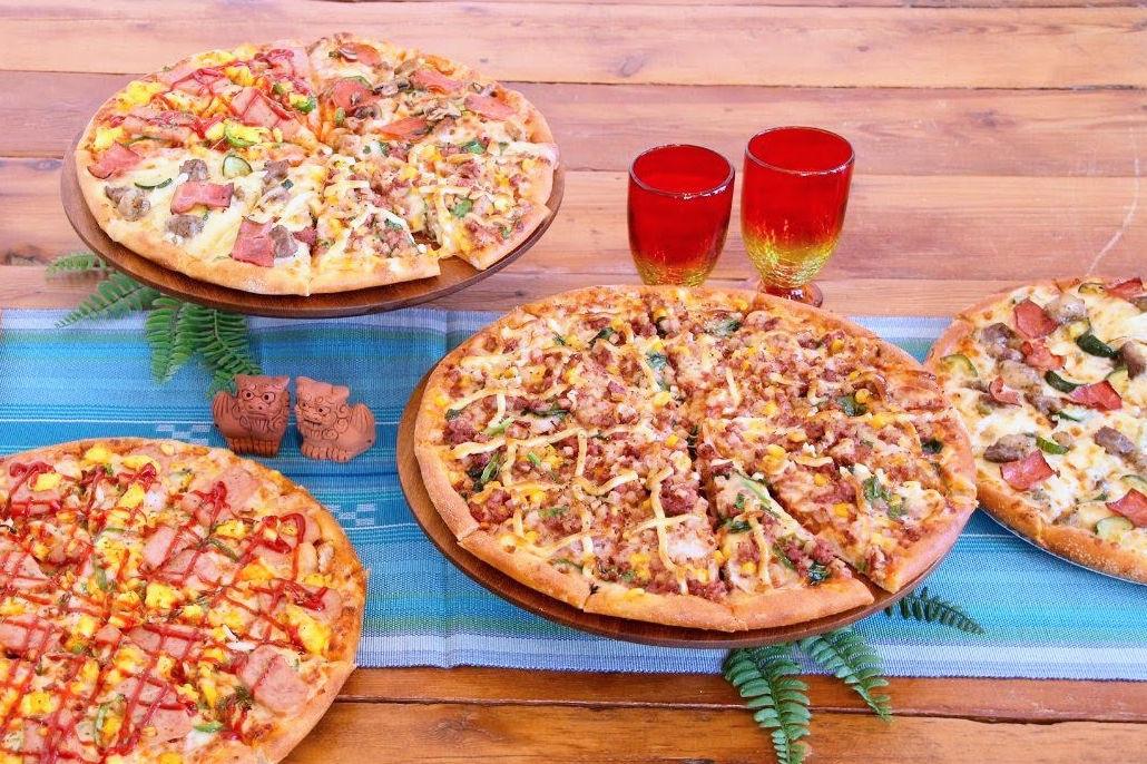 「ドミノピザ」のうちなー・ユーチー・ピザ
