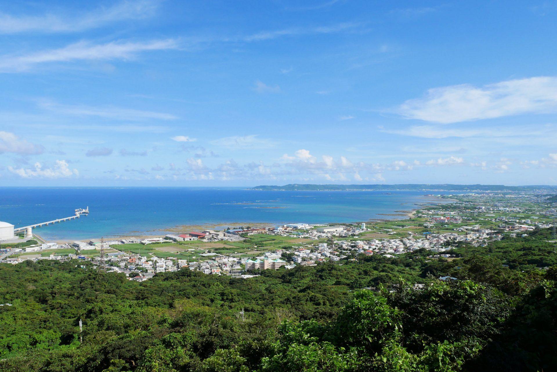 絶景 景色 中城村 世界遺産 中城城跡 沖縄 観光 旅行 歴史