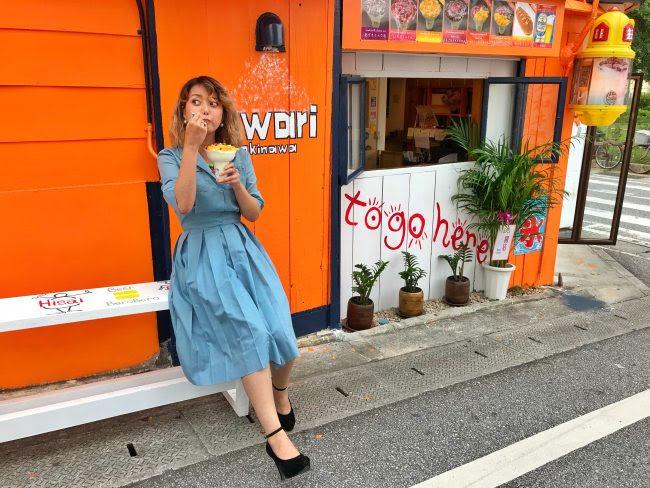 那覇でかき氷とホットドッグを食べるならここがピカイチ!fuwari [フワリ]