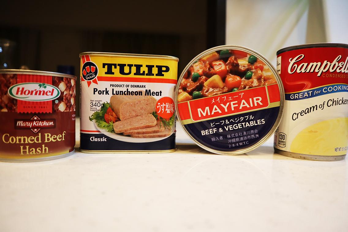 沖縄で人気の缶詰