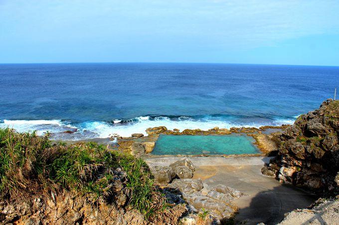 海軍棒プール おすすめ 南大東島 観光 旅行 沖縄 離島