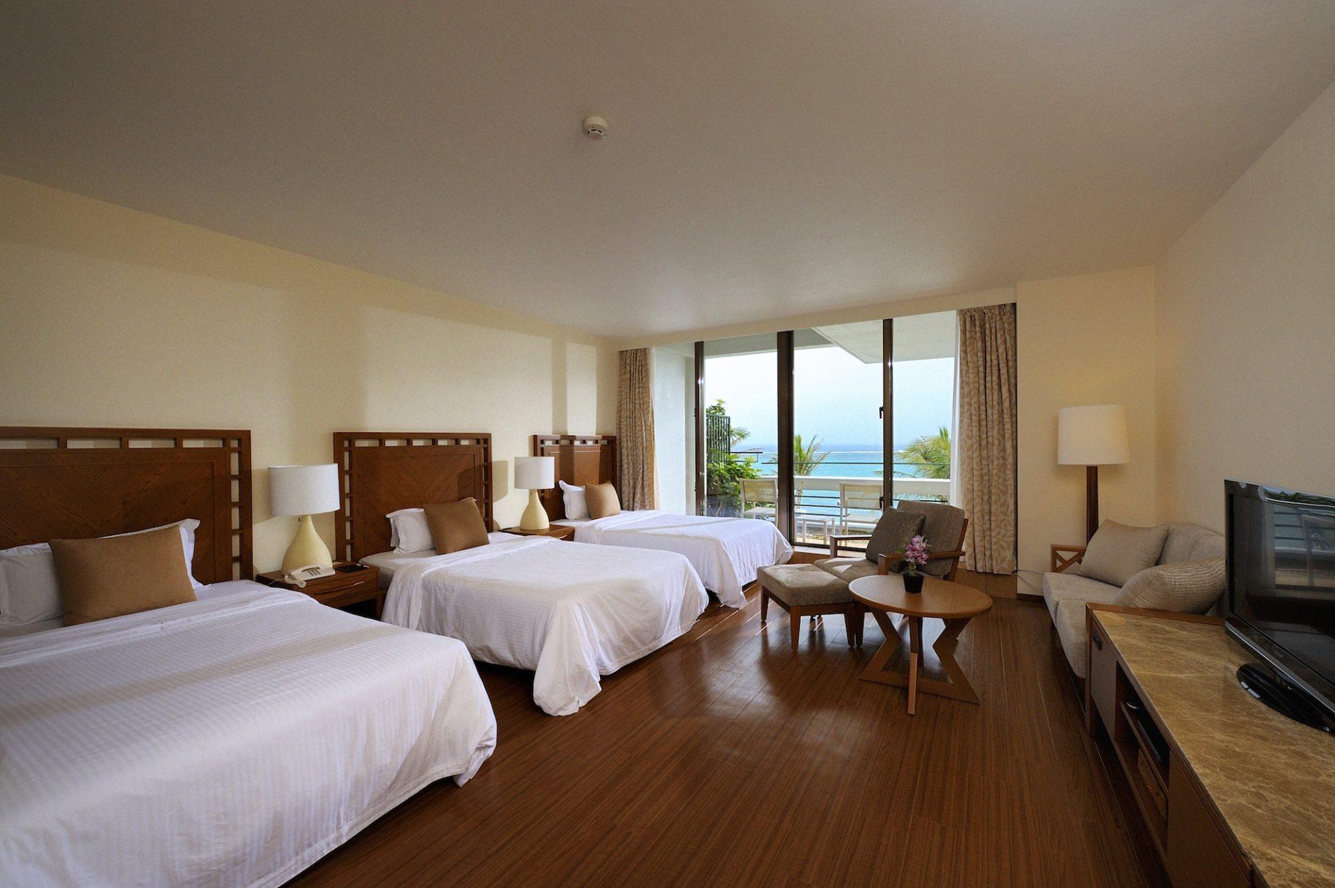 客室 ホテル ムーンビーチ 恩納村  おすすめ 西海岸 沖縄 旅行 観光