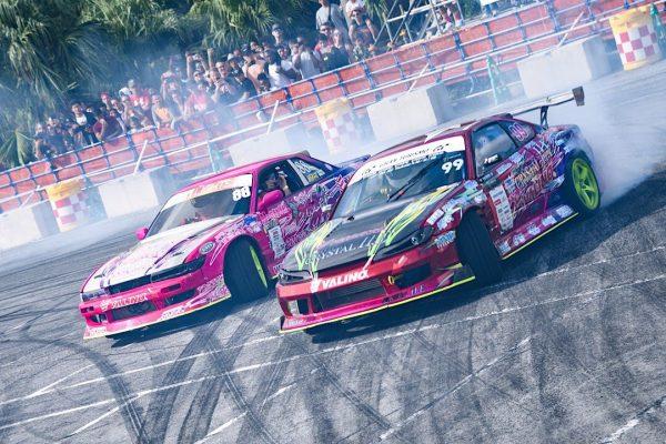 ドリフト、ジムカーナにカスタムカーショー モータースポーツの魅力が満載 沖縄市「コザモータースポーツフェスティバル」 イメージ