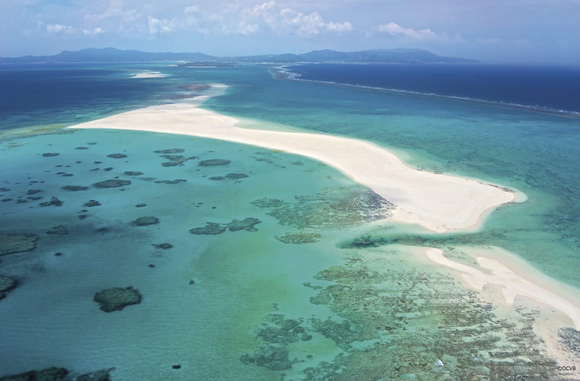はての浜 久米島 沖縄 おすすめ ビーチ 離島 旅行