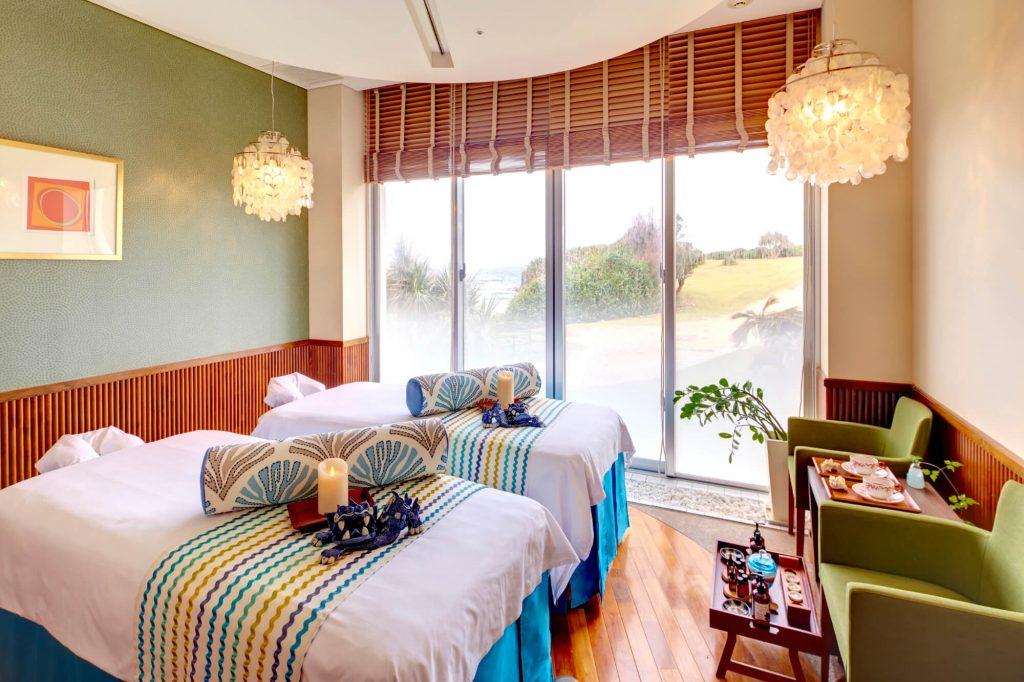 スパ ウェルネス 恩納村 ホテル ANA インター コンチネンタル 万座 ビーチ リゾート