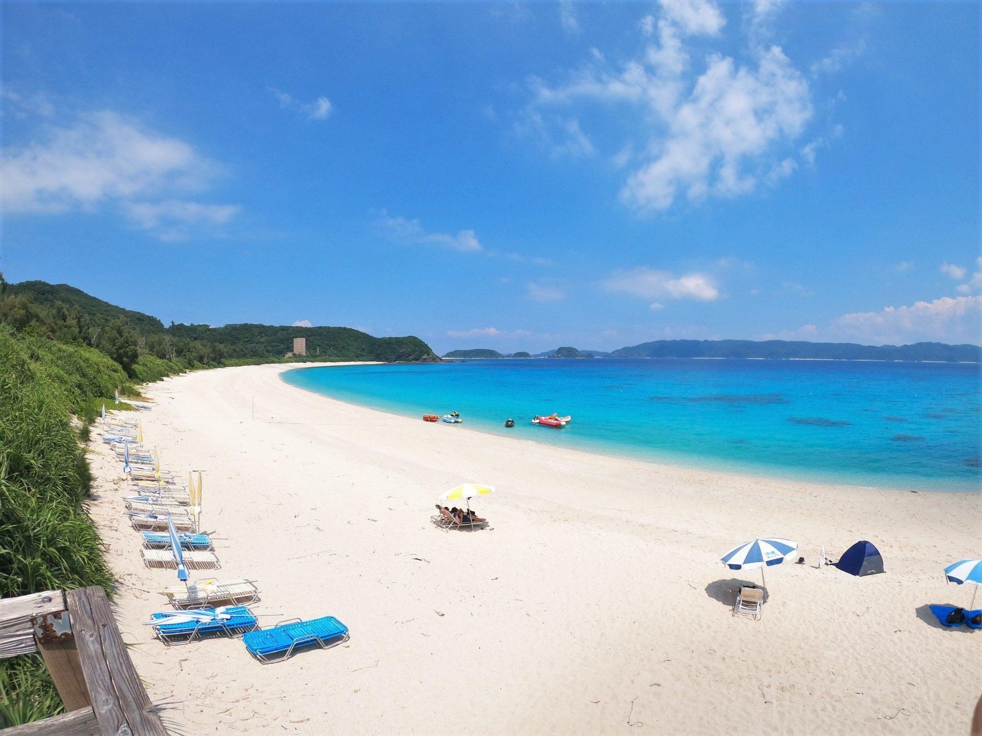 座間味島 観光 沖縄 離島 旅行 おすすめ 古座間味ビーチ