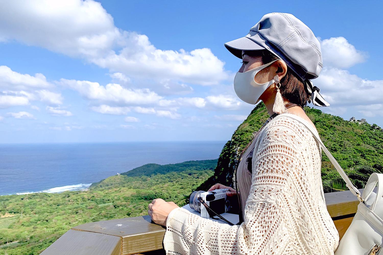大石林山の展望台